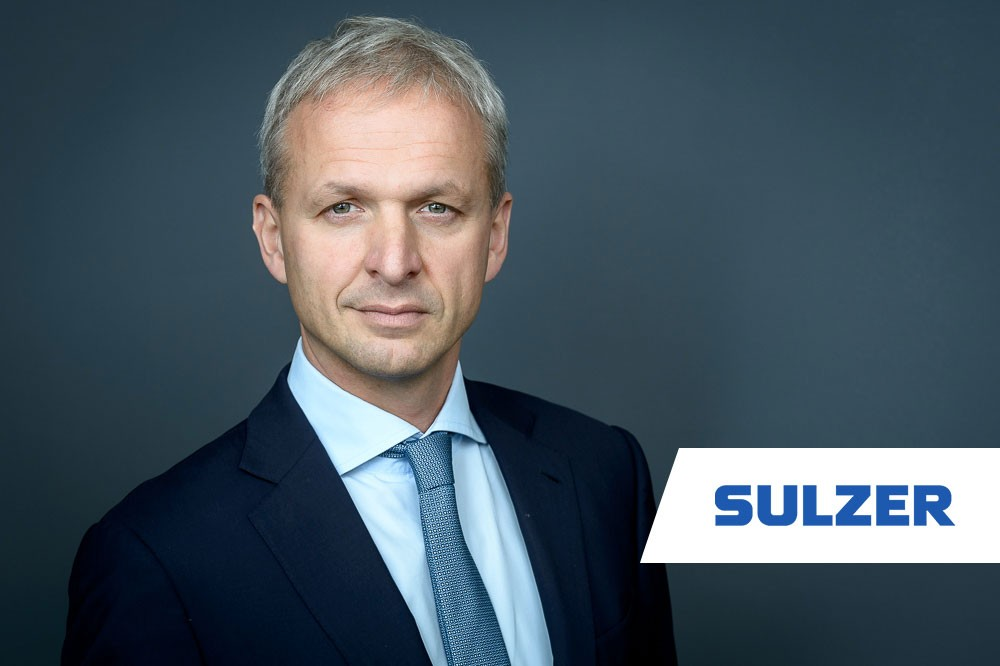 Grégoire Poux-Guillaume, CEO, Sulzer